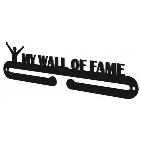 Věšák na medaile - My wall of fame
