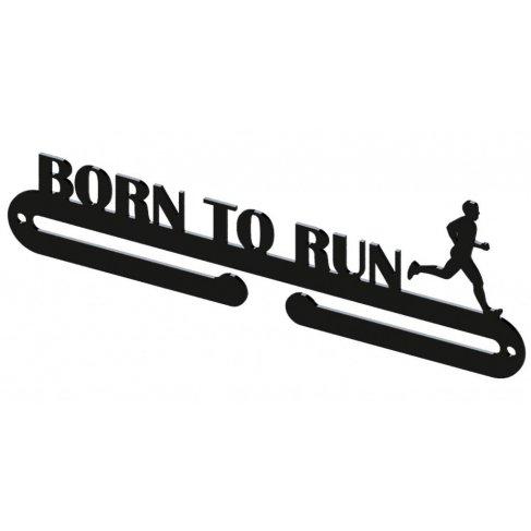 Věšák na medaile - Born to run muž