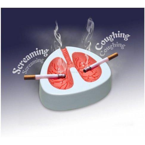 Kašlající popelník Plíce
