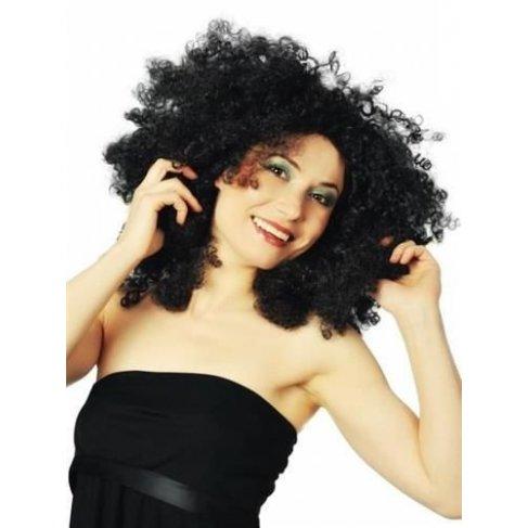 Afro paruka černá