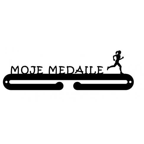 Věšák na medaile - Moje medaile žena
