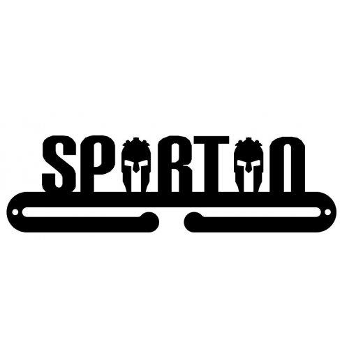Věšák na medaile - Spartan