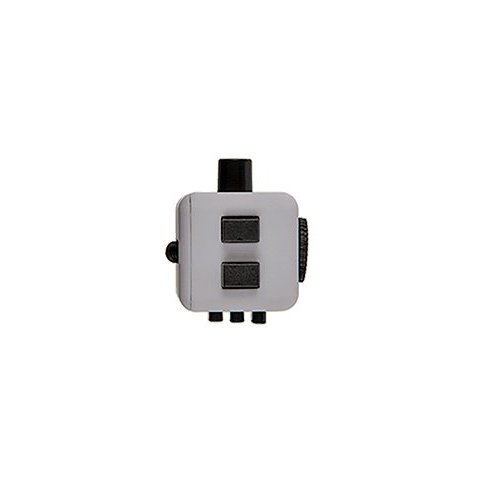 Fidget Cube antistresová kostka - Černo-modrá