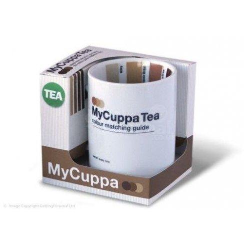 Hrnek se vzorníkem - čaj